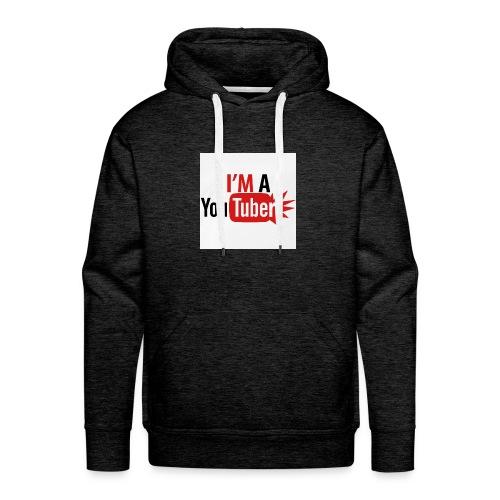 im a youtuber t shirts men s premium t shirt - Mannen Premium hoodie