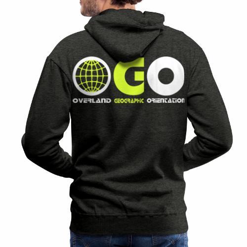 OGO-15 - Sweat-shirt à capuche Premium pour hommes