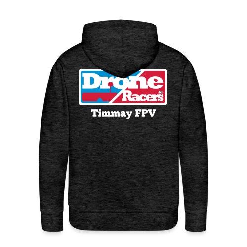 droneracers_logo_Timmay F - Mannen Premium hoodie
