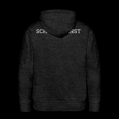 SCHLEPPDIENST - SCHRIFT - Männer Premium Hoodie