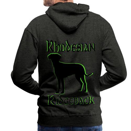 Hundekopf,Hundeliebhaber,Hundefreund,Ridgeback, - Männer Premium Hoodie