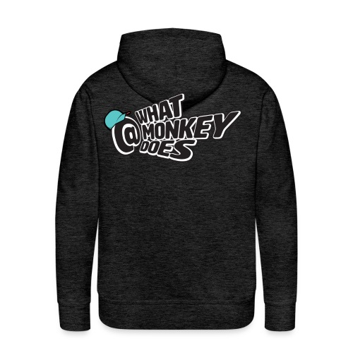 What Monkey Does Instagram Logo - Men's Premium Hoodie