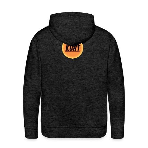 Kurt's Nye Logo - Herre Premium hættetrøje