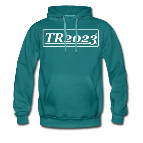TR2023 #TR2023 - Logo in weiß - Männer Premium Hoodie