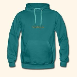 wanderness_orange - Männer Premium Hoodie