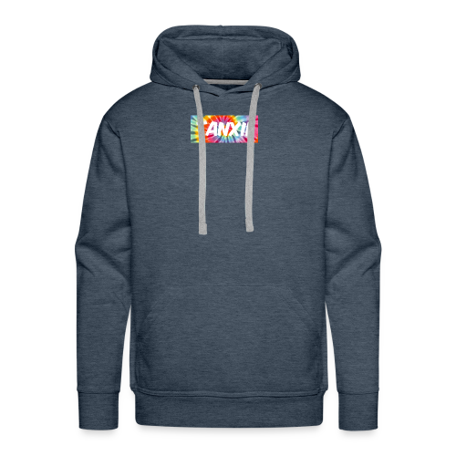 Tye Dye Logo - Men's Premium Hoodie