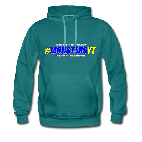 Official MOBSTERS logo titles - Men's Premium Hoodie