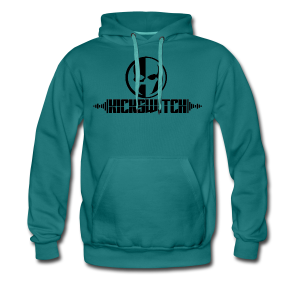KickSwitch Logo with text - Men's Premium Hoodie