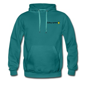 Spikey Lemon Clear black - Men's Premium Hoodie