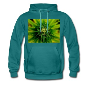 super weed - Bluza męska Premium z kapturem