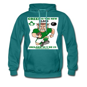 GREEN IS THE NEW BLACK !! - Men's Premium Hoodie