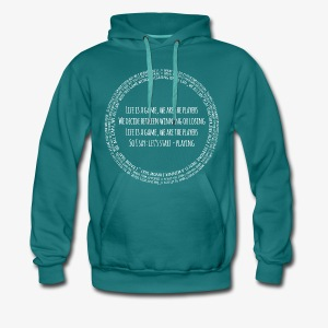 life is a game - Männer Premium Hoodie