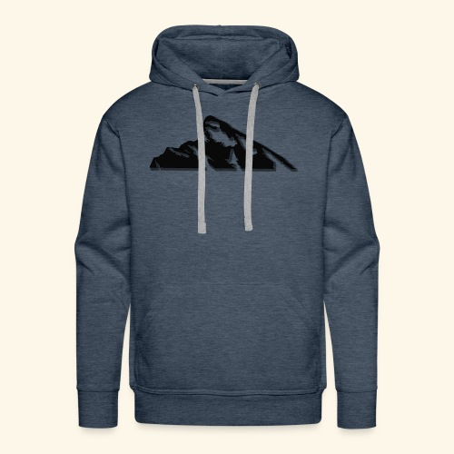 Snowy mountains - Men's Premium Hoodie