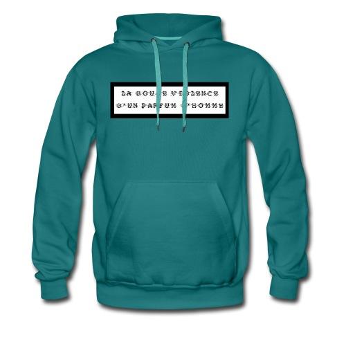 La douce violence d'un parfum d'homme - Sweat-shirt à capuche Premium pour hommes