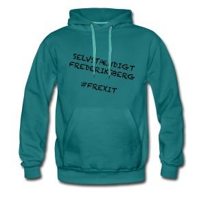 Selvstændigt Frederiksberg #FREXIT - Herre Premium hættetrøje