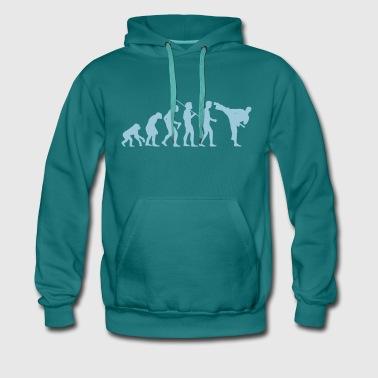 karaté - Sweat-shirt à capuche Premium pour hommes