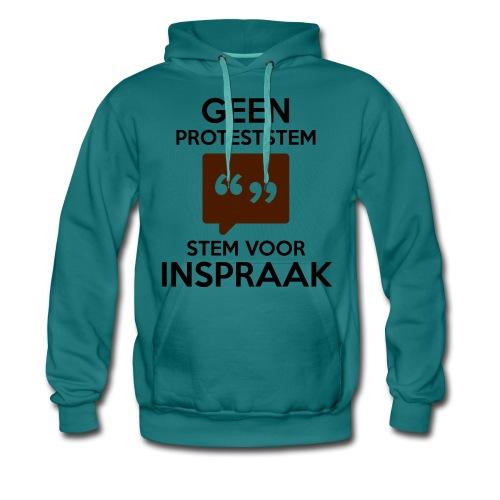 Stem Voor Inspraak - Mannen Premium hoodie