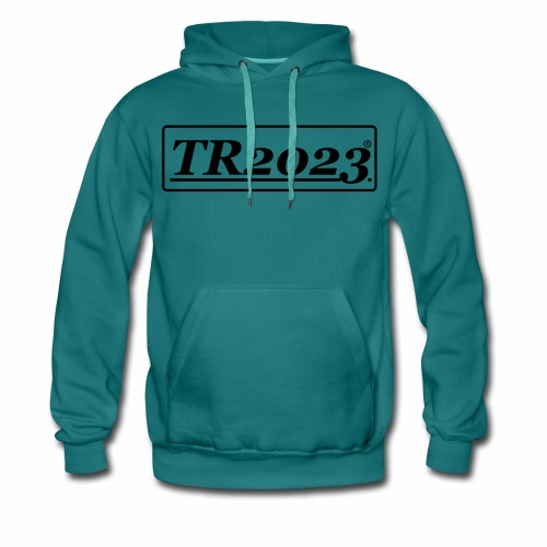 TR2023 #TR2023 schwarz - Männer Premium Hoodie