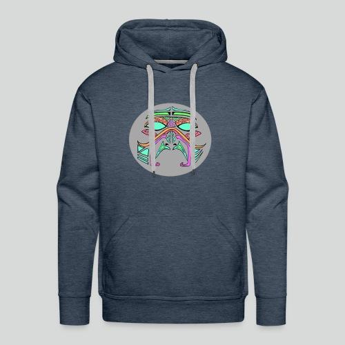 mask multicolor - Sweat-shirt à capuche Premium pour hommes