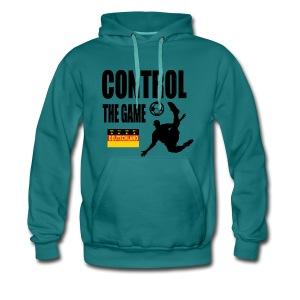 Control the game Deutschland zwart - Mannen Premium hoodie