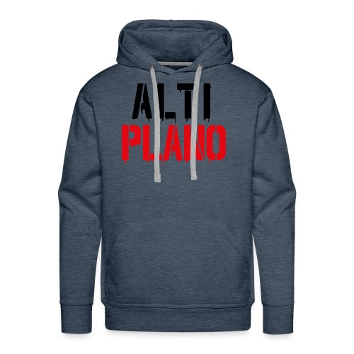 altiplano logo - Männer Premium Hoodie