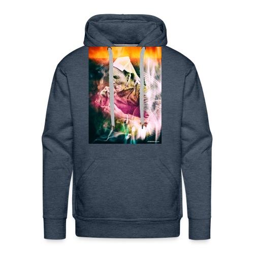 fumeuse bretonne - Sweat-shirt à capuche Premium pour hommes