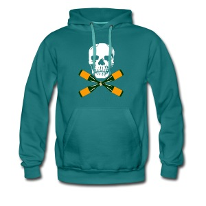 Skull and Bucky Bottles 2 - Men's Premium Hoodie