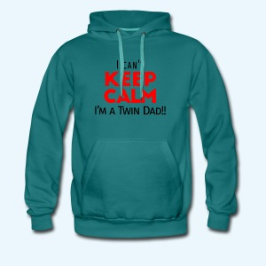 I Can't Keep Calm (Dad's Only!) - Mannen Premium hoodie