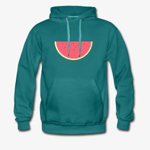 STERN MELONE - Digital MELON - Digital Fruit - Männer Premium Hoodie