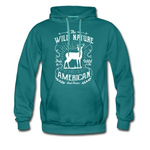 REAL HUNTER - Jäger Hunter Hunting Wildnis Shirt - Männer Premium Hoodie