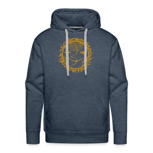 Golden Sunmoon Rising - Men's Premium Hoodie