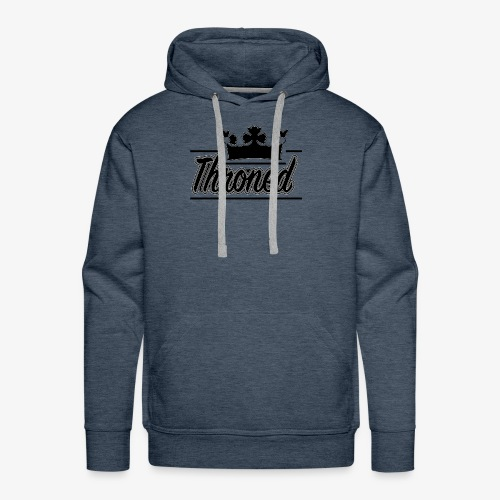 Throned Logo - Men's Premium Hoodie