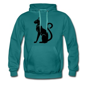 Bastet - Katzengöttin im alten Ägypten - Männer Premium Hoodie