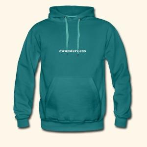 wanderness_white - Männer Premium Hoodie