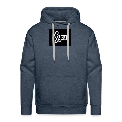 fuck you 69700 - Sweat-shirt à capuche Premium pour hommes