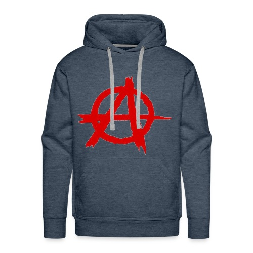 Anarkist Logo - Men's Premium Hoodie