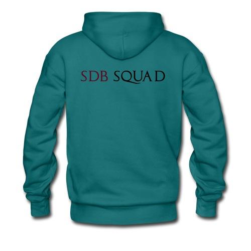 SDB SQUAD - Felpa con cappuccio premium da uomo