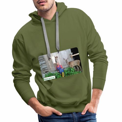 SenSi ♥ Hilfsprojekt für Kühe - Männer Premium Hoodie