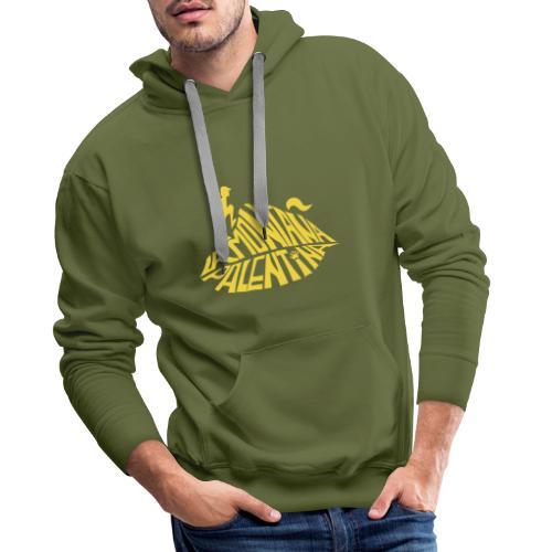 la montaña palentina- amarillo - Sudadera con capucha premium para hombre