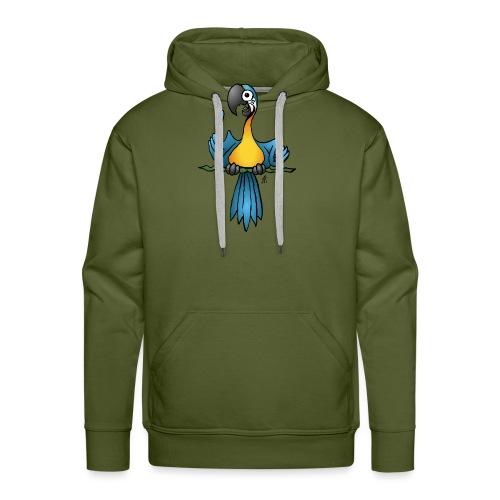 Talking parrot - Men's Premium Hoodie
