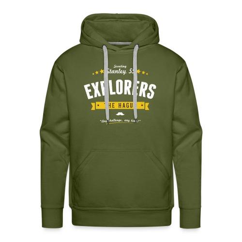 Explorershirt - Mannen Premium hoodie