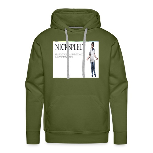 NickSpeelt merchandise - Mannen Premium hoodie