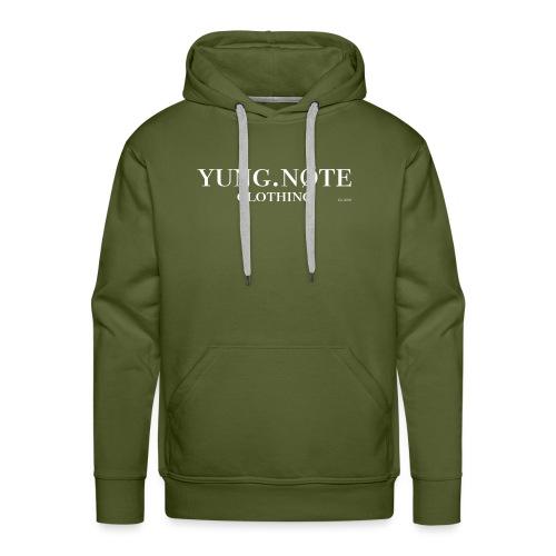 T-Shirt Basic - Mannen Premium hoodie