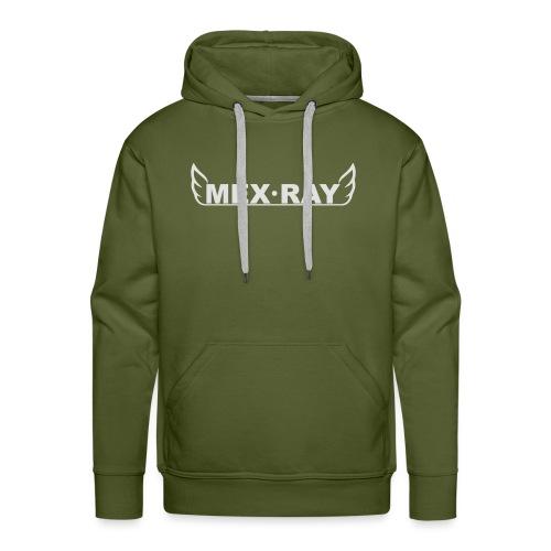 White full - Mannen Premium hoodie