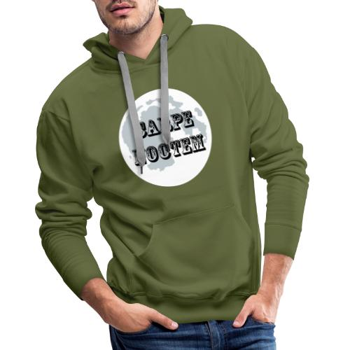 Latin carpe noctem shirt - Mannen Premium hoodie