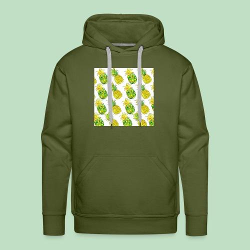 Pineapple Fantasy - Felpa con cappuccio premium da uomo