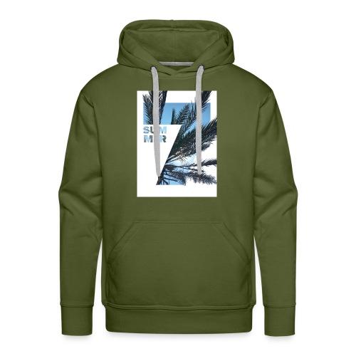 Summertime - Mannen Premium hoodie