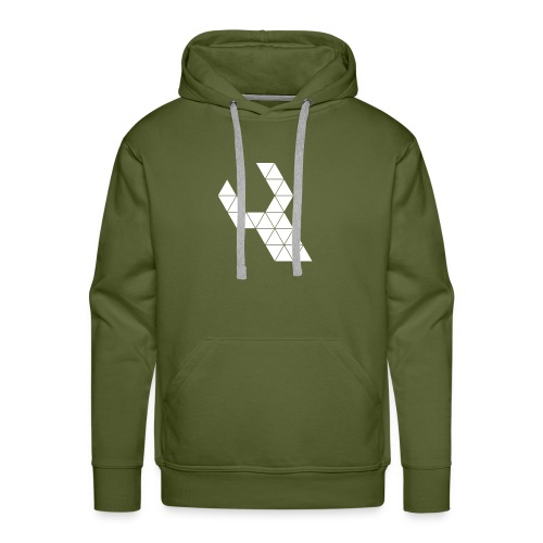 Repareer.com Basic Logo - Mannen Premium hoodie