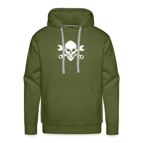 adhd skull - Premiumluvtröja herr