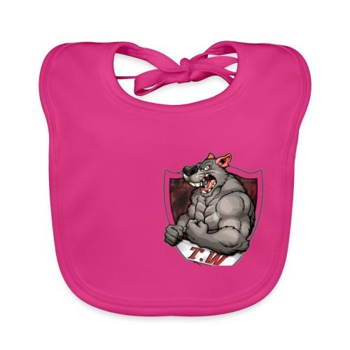 mouse logo - Baby Organic Bib